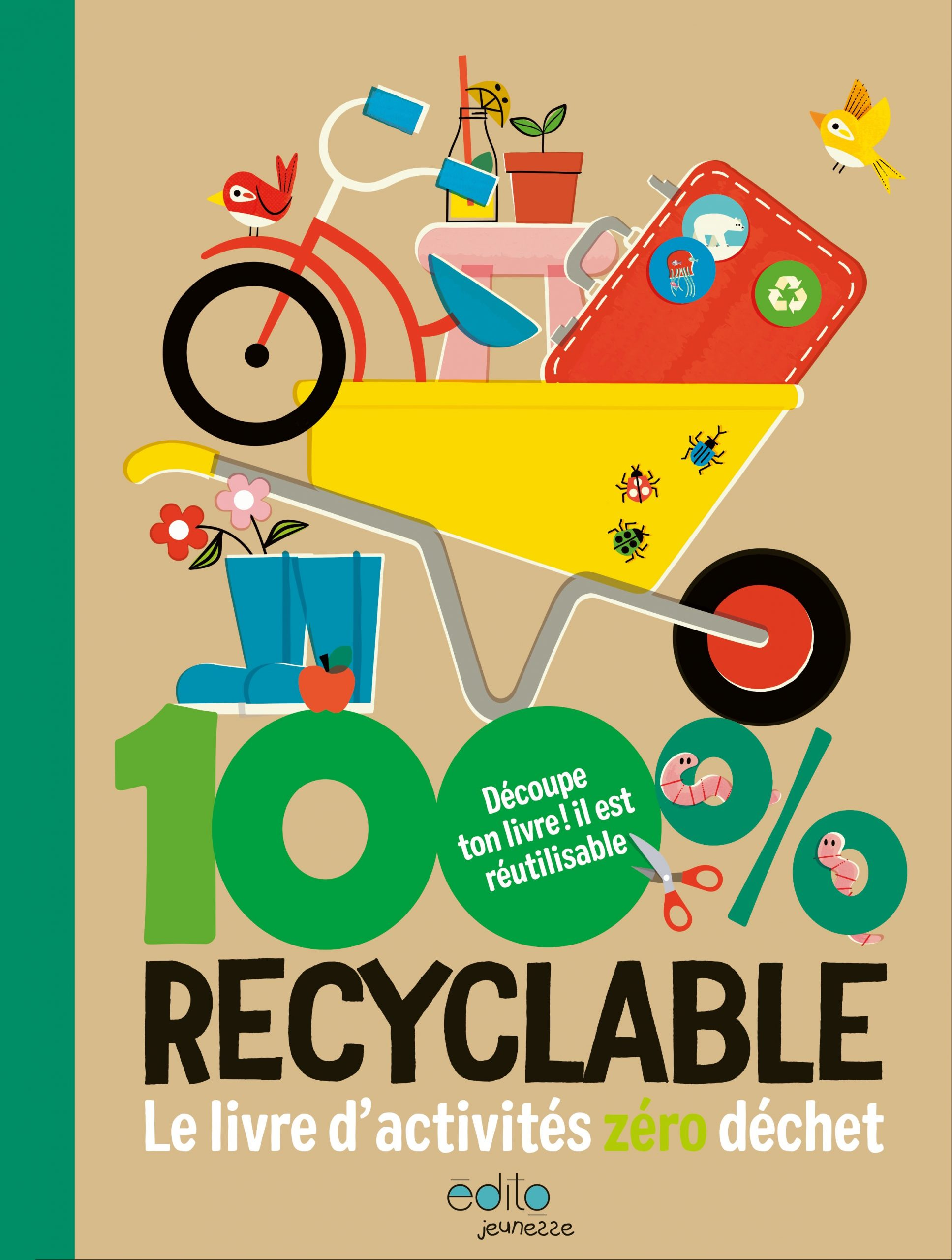 100% recyclable Image